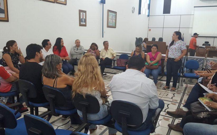 COSEMS NA OFICINA DOS PLANOS DE SAÚDE DA REGIÃO DE TOCANTINS.