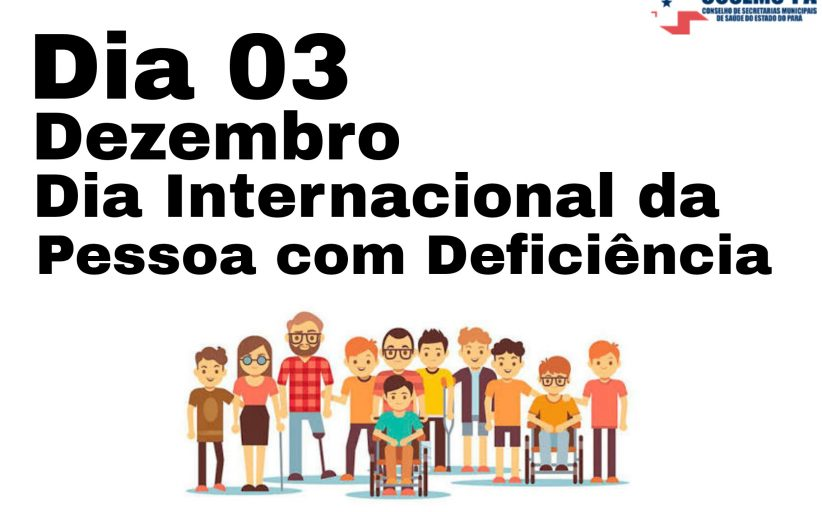 DIA INTERNACIONAL DA LUTA DAS PESSOAS COM DEFICIÊNCIA